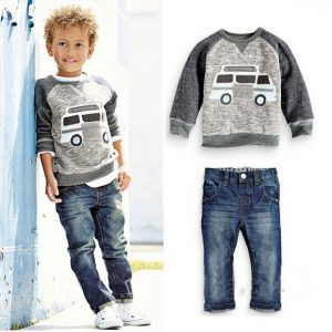 9M-7years-Spring/Summer boys casual wear Shirt and Jeans