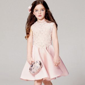 3-11 years-style kids girls collection trend fashion embroider skin frock formal wear Islamabad online shop
